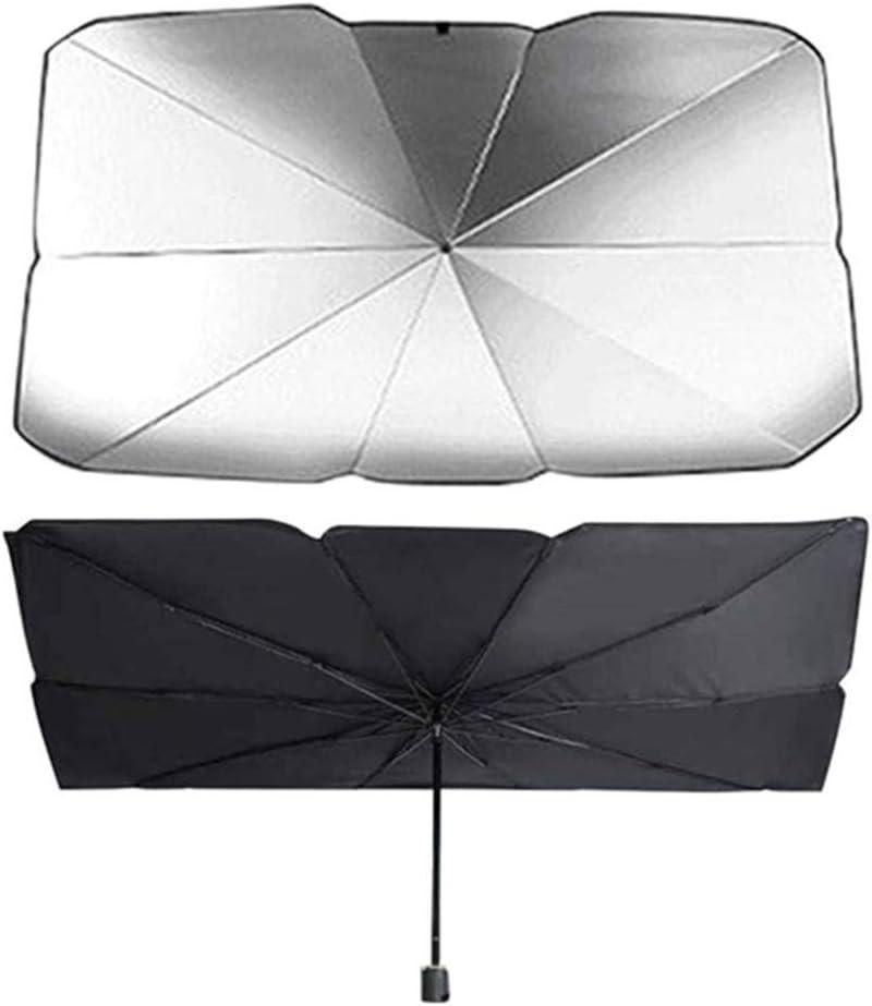 Faltbare Auto Windschutzscheibe Sonnenschutz Front Fensterabdeckung Visier Sonnenschirm Regenschirm S