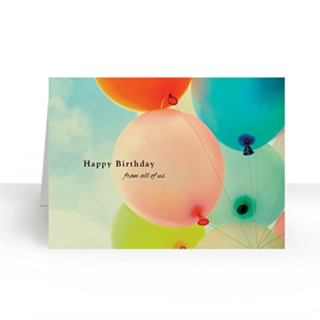 Amazon Pack Of 25 Wall Street Greetings Balloons From All Of