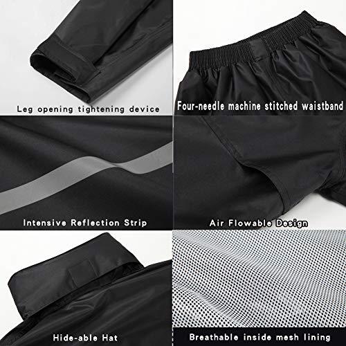 XXL, Fluorescent green Tianwang Skynet Rain Suit Jacket /& Trouser Suit Raincoat Unisex Outdoor Waterproof Anti-storm