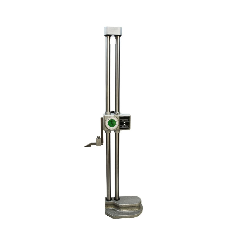 Precision Double Beam 24'' Dial Height Gage Carbide .001'' Digital Height Gauge