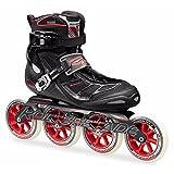 Rollerblade Tempest 110 Inline Skates Black / Red-6
