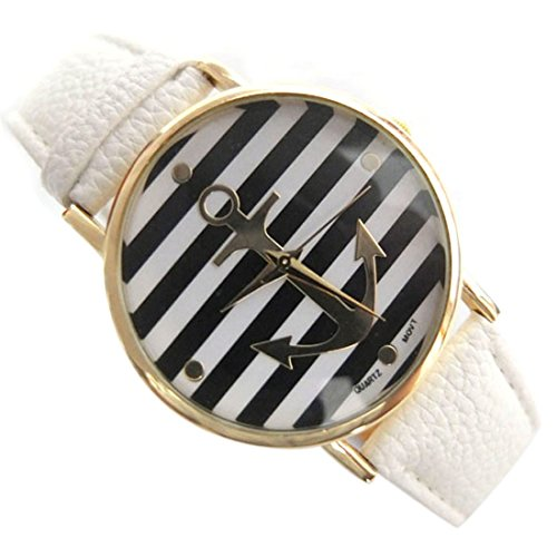 Coromose Womens Stripes Anchors Leather product image