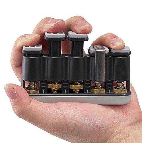 Foto4easy Guitar Beginner Hand Exerciser Finger Strengthener Trainer (Grey)