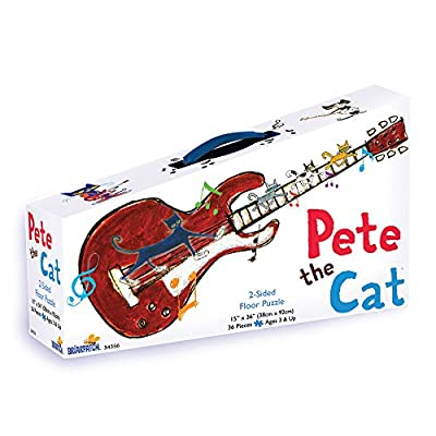 Pete the Cat 2-Sided Floor Puzzle: Game: Toys & Games