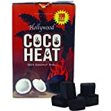 HOLLYWOOD COCO HEAT 100% COCONUT SHELL CHARCOAL NATURAL PACK OF 108 PCS