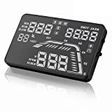 Q7 5.5 inch Universal Auto GPS Car HUD Head Up Display Satellite Time Altitude Overspeed Warning Speedometers