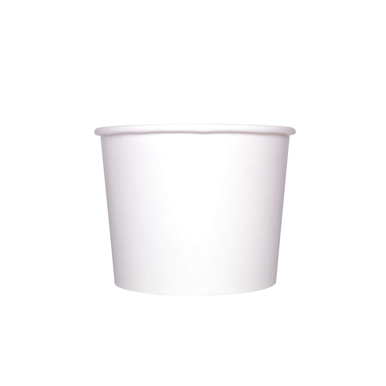 Karat C-KDP16W 16 oz. Food Container - White (Case of 1000)