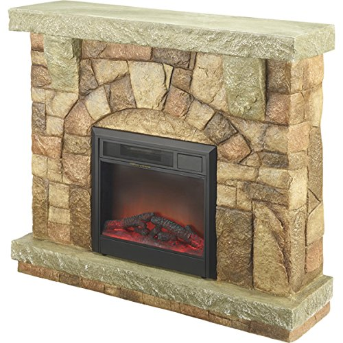 Cheap ProFusion Heat Polystone MM01512 Electric Fireplaces with Mantel Black Friday & Cyber Monday 2019