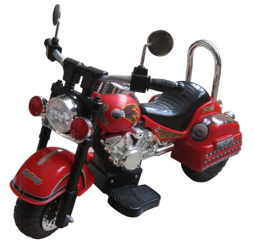 Merske-Harley-Style-6V-Battery-Operated-Kids-Motorcycle-Red