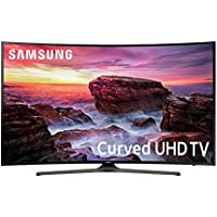 "Samsung MU6490 55"" Curved 4K Ultra HD 2160p 120Hz Smart LED HDTV (2017 Model) with HDR"