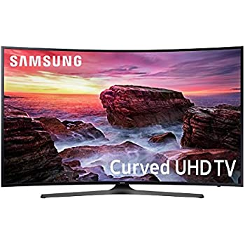 Samsung Electronics UN55MU6490 Curved 55-Inch 4K Ultra HD Smart LED TV (2017 Model)