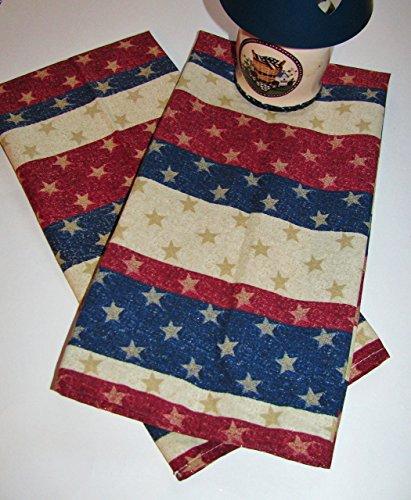 Stars & Stripes Decorative Tea Towels (Set of 2)