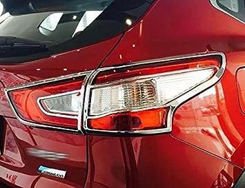 Nissan Qashqai 2014 2015 2016 cromo paneles para faros traseros 2 unidades - Cromo paneles New: Amazon.es: Coche y moto