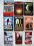 Private Paris; Daniel X; Merry Christmas Alex Cross; Unlucky 13; Don't Blink; ... (9 Set)