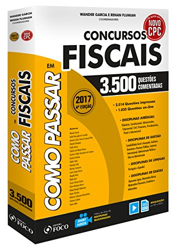 Como Passar em Concursos Fiscais. 3.500 Questões Comentadas