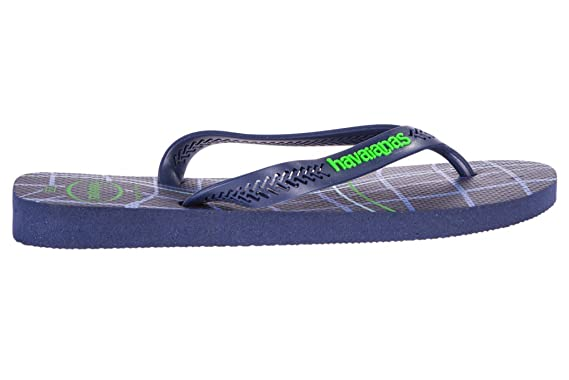 152057ca0fa79 Image Unavailable. Image not available for. Colour  Havaianas Mes Aero  Graphic Flip Flops ...