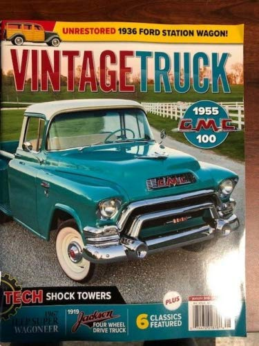 - VINTAGE TRUCK MAGAZINE August 2019 ( ++ FREE VEHICLE MAGAZINE ) TECH SHOCK TOWERS