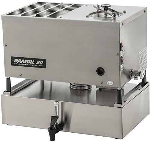 Durastill 8 Gallon Per Day Manual-fill Water Distiller wi...