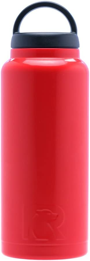 RTIC 219 Double Wall Vacuum Insulated Bottle, 36 oz, Red