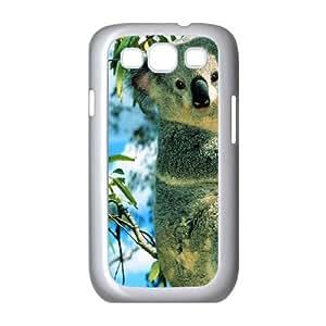 Koala Samsung Galaxy S3 9300 Cell Phone Case White JU0024189