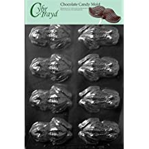 Cybrtrayd A126 Frog Chocolate Candy Mold with Exclusive Copyrighted Molding Instructions