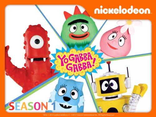 amazoncom yo gabba gabba season 1 dj lance rock amazon