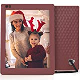 Photo : Nixplay Seed 10 Inch WiFi Cloud Digital Photo Frame with IPS Display, iPhone & Android App, Free 10GB Online Storage and Motion Sensor (Mulberry)
