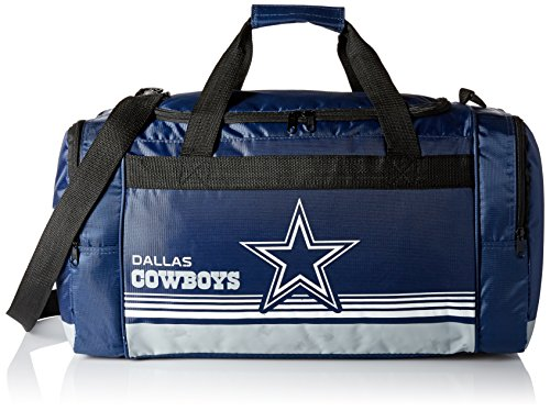 FOCO Dallas Cowboys Medium Striped Core Duffle Bag by FOCO