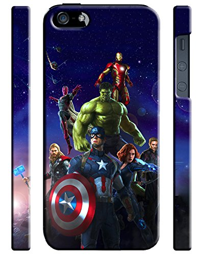 Avengers Age Of Ultron Iphone 5 5s Hard Case Cover