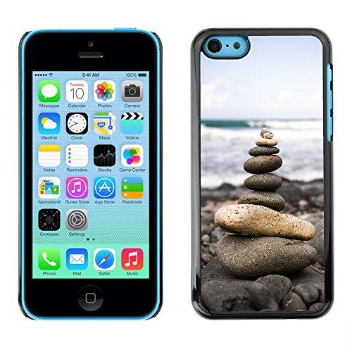 Premio Sottile Slim Cassa Custodia Case Cover Shell // F00001508 nuages ??caribbean // Apple iPhone 5C