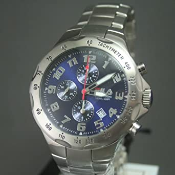 Fila Herren-Armbanduhr Chronograph Quarz Edelstahl FA0795-32