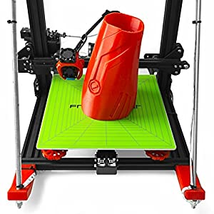 """Frog Print 3D Premium Printing Build Surface for Perfect Prints / 12"""" x 12"""" (310mm X 310mm) with 3M Adhesive Backing. Can be Cut for All 3D Printers Including: Makerbot/Lulzbot / CR-10 / CR-10S from Frog Print 3D"""