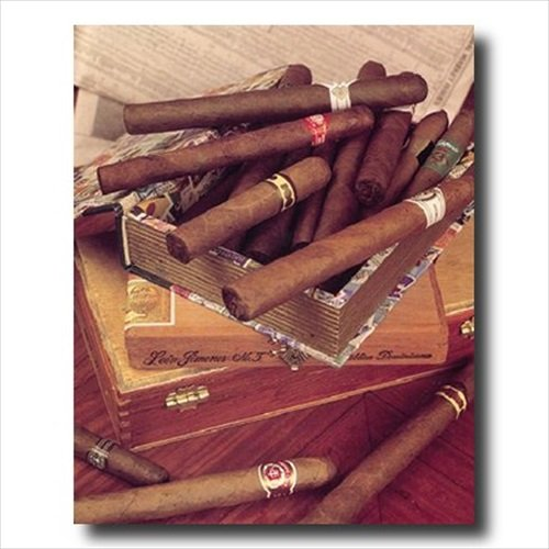 - Cigar Labels Old Cigar Boxes And Cigars Store Wall Picture 16x20 Art Print