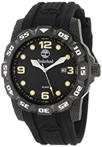 Timberland Men's 13317JSB_02 Belknap 3 Hands Date Rotating Top Ring Watch