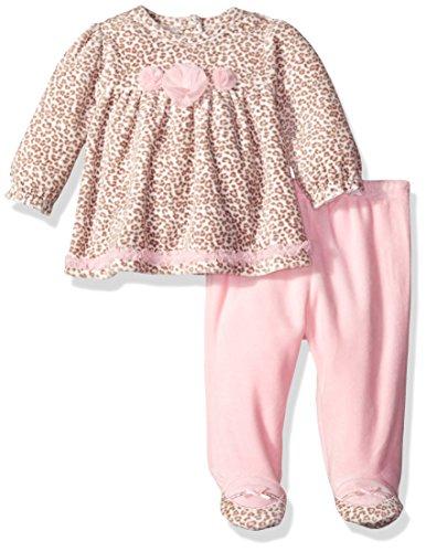 Baby Girl Velour Pant - 2