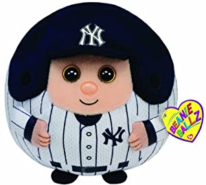 Ty Beanie Ballz MLB New York Yankees Large Plush