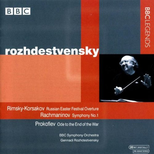 Rachmaninov: Symphony No. 1 / Rimsky-Korsakov: Russian Easter Festival Overture / Prokofiev: Ode, Op. 105