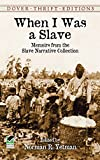 Best Dover Publications Fiction History Books - When I Was a Slave: Memoirs from the Review