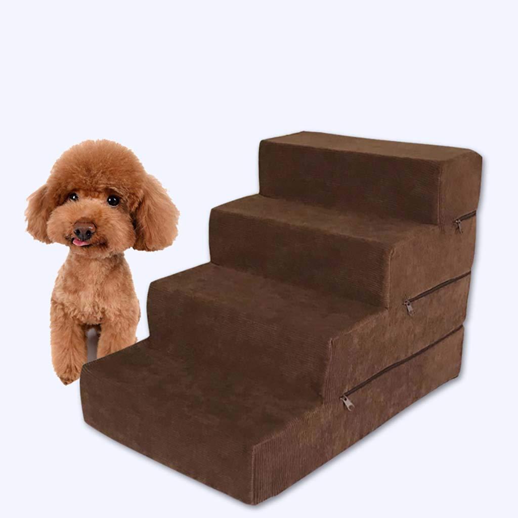 Amazon.com: Escalera para perros de 4 pasos, escalera ...