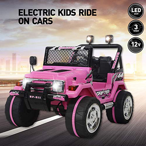 Vosson Kids Car to Drive 12V Power Kids Jeep Car Kid for sale  Delivered anywhere in USA