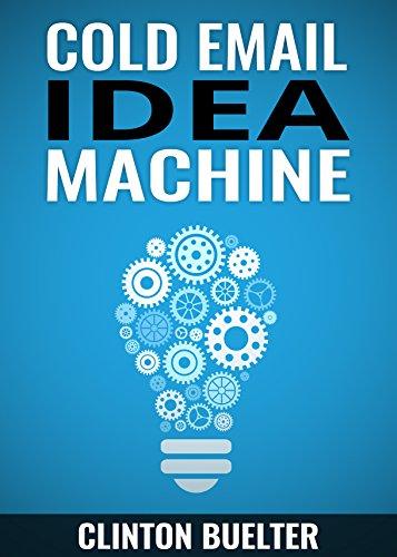 Cold Email Idea Machine jumpstart ebook product image