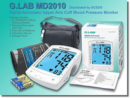 G.LAB Digital Automatic MD2010 Upper Arm Cuff Blood Pressure Monitor 51Ayzk 2BnzHL