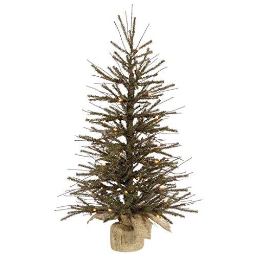 Vickerman B167631LED Artificial Christmas Tree with 433 PVC tips & 35 Dura-Lit Italian LED Mini Lights, 30