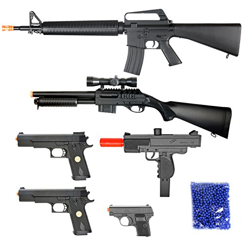 BBTac Airsoft Package - Lot of 5 Airsoft Guns Sniper Rifle S