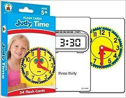 Judy(r) Time Flash Cards, Ages 5 - 11 por Carson-dellosa Publishing epub