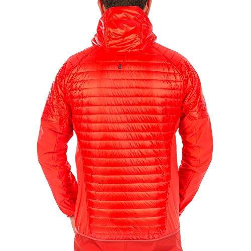 2 papavero Rojo Hombre Hybrid Prl Chaqueta De 1640 Salewa Para Ortles Plumas M EqR66T
