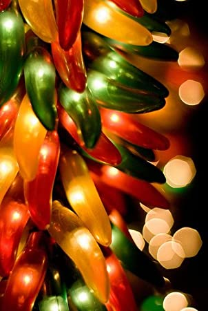 Amazon.com : Sival Chili Pepper Rista Cluster Lights - Plug In ...