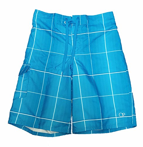 op-aqua-blue-plaid-eboard-short-at-knee-22-outseam-swim-trunks-medium