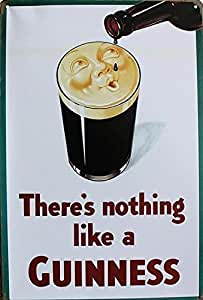 (Roys Art) -There's nothing like a Guinness! metal signs