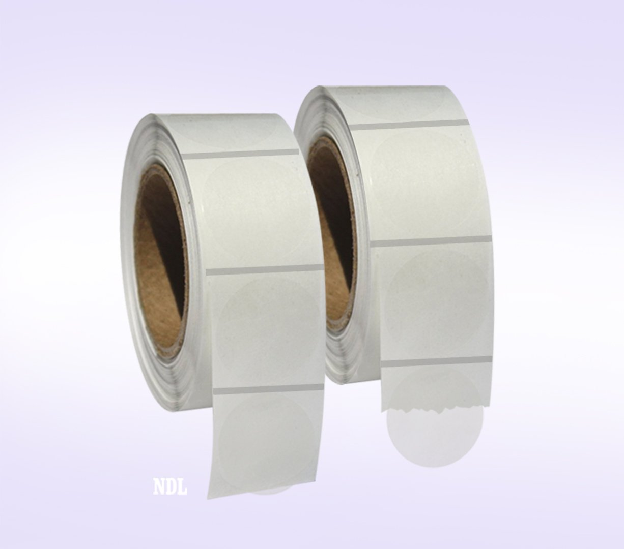 2, 000 Clear Retail Package Seals 1 Inch Round Circle Wafer Stickers/Labels 1, 000 Per Roll - 2 Rolls per pack - Total 2000 Labels per pack Next Day Labels 58823